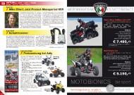 ATV&QUAD Magazin 2011/11-12, Seite 10-11, Aktuell: News & Trends  Mike Ehlert: Jetzt Product-Manager bei KSR  Alpenheat: Schuhtrockner  Herkules Motor: Preissenkung bei Adly