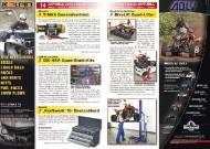 ATV&QUAD Magazin 2011/11-12, Seite 14-15, Aktuell: News & Trends  Atraxion: T-MAX Generalvertrieb  Quad-Shop München: BikeLift Quad-Lifter  JSS-Automotive: 500 H&R Quad-Stabi-Kits  Keszler: 'Kraftwerk' für Deutschland
