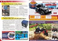 ATV&QUAD Magazin 2011/11-12, Seite 16-17, Aktuell: News & Trends  Novitec: Starter-Batterien richtig pflegen  BMZ Batterien Montage Zentrum: Starter-Akku auf Li-Fe-Phosphat-Basis