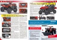 ATV&QUAD Magazin 2011/11-12, Seite 20-21, Aktuell: News & Trends  Kawasaki KVF 300 Brute Force: Neues Einstiegs-ATV  Kawasaki Teryx4 750 4x4: Viersitzer