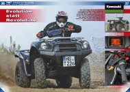 ATV&QUAD Magazin 2011/11-12, Seite 26-31, Test Kawasaki KVF 750 4x4 EPS: Evolution statt Revolution