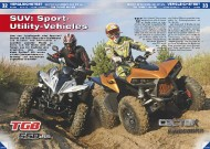 ATV&QUAD Magazin 2011/11-12, Seite 32-41, Vergleichstest Cectek KingCobra 500 EFI vs. TGB Target 550 IRS: SUV Sport-Utility-Vehicles