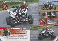 ATV&QUAD Magazin 2011/11-12, Seite 42-43, Fahrbericht Motibionics Bistrada 3.5 SuperMoto: Tiefflieger
