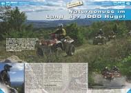 ATV&QUAD Magazin 2011/11-12, Seite 44-47, Erlebnis TOSCANAtours: Naturgenuss im Land der 1000 Hügel