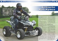 ATV&QUAD Magazin 2011/11-12, Seite 48-53, Umbau Gessler Maxxer 300 'Wide': Keltische Kult-Kymco