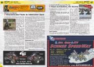 ATV&QUAD Magazin 2011/11-12, Seite 66-67, Sport Nachrichten  EM Endurance Masters: Dramatisches Finale im märkischen Sand  Int. Quad & ATV Schnee SpeedWay Cup: Feuer auf Schnee, die Neunte