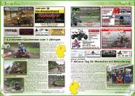 ATV&QUAD Magazin 2011/11-12, Seite 72-73, Szene  Offroadpark Südheide: 4,2-Stunden-Quadrennen zum 1-Jährigen  Scholly´s Motorrad: Aktions-Tag für Menschen mit Behinderung
