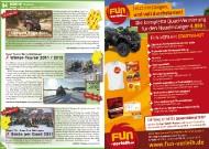 ATV&QUAD Magazin 2011/11-12, Seite 94-95, Szene Termine  BRP / Can-Am: Offroad-Tage 2011  Quad Touren Berry Weishaupt: Winter-Touren 2011 / 2012  Quad-TH - Quad Fun Thüringen: Santa per Quad 2011