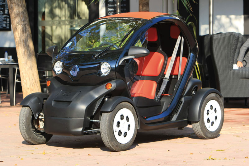 renault twizy elektro quad mit hohem spa faktor atv quad magazin. Black Bedroom Furniture Sets. Home Design Ideas