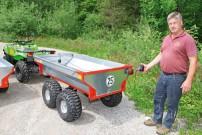 Hans Baumgartner: abnehmbare Magnet-Rückleuchten für Straßenzulassung bis 25 km/h