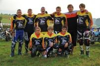 Michel's Quad-Racing Team; oben: Harry Wansner, Ralf Walter, Ralf Lustig, Heiko Uhlich, Michael Haag, Andre Sitzler;<br /><br /> unten: Kim Bischofsberger, Marvin Haag, Julian Haag