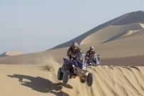 Rallye Dakar 2012: Die Brüder Marcos (vonre) und Alejandro Patronelli auf Yamaha