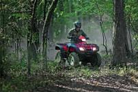 Honda Foreman TRX500FPA: mit wartungsfreiem HondaMatic Hydrostat-Getriebe