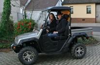Quadmagic, Bettina Wilde & Uwe Klos: Hochzeit im Side-X-Side