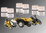 CubCadet UTV 4x4 Diesel: Auszeichnung für Qualität, Design, Funktionalität und Ergonomie