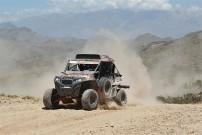 Rallye Dakar 2012: unterschiedliche Geländetypen