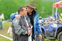 ECHT Endurocup Hessen Thüringen  Mario Dietzel, der ECHT-Chef und Jörg Thielicke im Benzingespräch