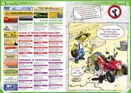 ATV&QUAD Magazin 2012/02, Seite 80-81; Szene, Termine: Quad-Treffen; Cups & Meisterschaften; Messen & Ausstellungen; Cartoon, Budi: Xing-Fong Michel