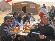 Sahara Offroad, Tunesien-Tour im Februar 2012: am Lac Houidhat