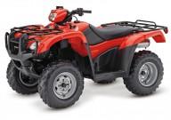 Honda Foreman TRX500FE: Modell-Update 2012 in den USA wahlweise mit oder ohne Servolenkung 'Electric Power Steering' (EPS), bei uns nur ohne – schade eigentlich