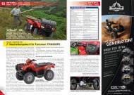 ATV&QUAD Magazin 2012/03, Seite 12-13:  Honda, Neuheitenpaket für Foreman TRX500FE