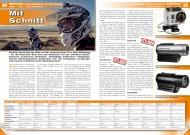 ATV&QUAD Magazin 2012/03, Seite 34-35, Service / Marktübersicht Action-Kameras: Mit Schnitt