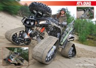 ATV&QUAD Magazin 2012/03, Seite 42-43, Poster: Military Browning