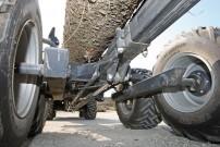 Kräftig: Rahmen, Tandem-Achse & Räder sind für 4 Tonnen ausgelegt
