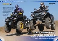 ATV&QUAD Magazin 2012/04, Seite 20-29, Vergleichstest: Can-Am Outlander MAX 800R gegen CF Moto Terralander 800