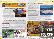 ATV&QUAD Magazin 2012/04, Seite 50-51, Sport, European Endurance Day: Pfingsten rockt es am Ring; DMX Auftakt in Dolle: Schreiber konkurrenzlos; Schnee SpeedWay: Zickiger Winter