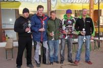 EM Endurance Masters 2012, 2. Lauf in Rottleben: Marko Dörfer, Andre Nowoisky, Michael Holland, Michael Grimm, Kvetoslav Sochor