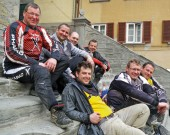 Quad-TH-Team: gemeinsam mit Freunde aus der Schweiz und dem niedersächsischen Oldenburg auf Tour im toskanisch-umbrischen Apennin