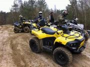 ATV-Tag im Hoope Park: ehrenvolle Aufgabe, eine aktuelle Gladiator T5 über den Parcours zu scheuchen