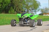 Rabenbauer Kawasaki KFX 840: äußerlich eher unauffällig