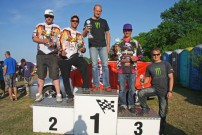 EM Endurance Masters 2012, 3. Lauf in Diehlo: Podium Quad-Solo