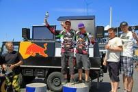 European Endurance Day 2012, Podium Twin Class: Nowoisky / Hackebeil vor Grimm / Barfuß und Lubosz / Bienek