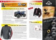 ATV&QUAD Magazin 2012/06, Seite 14-15, Aktuell, Yamaha: Aktions-Angebote für Grizzly-Modelle; iXS: Gore-Tex Jacke Saratov; Ortema: Tag der Offenen Tür; ebi-tec: GPS-Alarm III