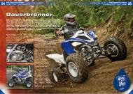 ATV&QUAD Magazin 2012/06, Seite 24-27, Präsentation Yamaha YFM 700 Raptor MY13: Dauerbrenner