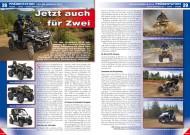 ATV&QUAD Magazin 2012/06, Seite 28-29, Präsentation Can-Am Modelle 2013: Jetzt auch für Zwei