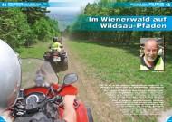 ATV&QUAD Magazin 2012/06, Seite 44-47, Erlebnis Wild Boar Trail: Im Wienerwald auf Wildsau-Pfaden
