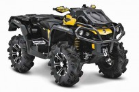 Can-Am Model-Range 2013: 'Mud-Racer' Outlander 1000 X mr