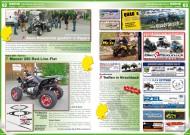 ATV&QUAD Magazin 2012/07-08, Seite 62-63, Szene Deutschland PLZ 8, Roel Trikes und Quads: Aeon Roadshow gastiert in Bayern; Team Diel / Kymco: Maxxer 250 Red-Line-Flat; Quadhawks: Treffen in Hirschbach