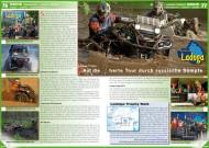 ATV&QUAD Magazin 2012/07-08, Seite 76-77, Szene Rennsport, Ladoga Trophy: Auf die harte Tour durch russische Sümpfe