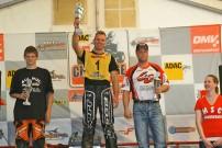 ADAC DMV Quad Challenge, 4. Lauf in Alsfeld Angerod, Sieger in der Klasse 2: Kevin Labensky, Stephan Bischoff und Stefan Wagner