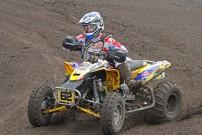 EMX 2012, 5. Rennen in Lacapelle Marival, Jeremie Warnia: Sieger der EMX 2012 mit auffällig stinkendem Sprit