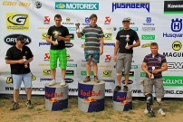 GCC German Cross Country 2012, 5. Lauf in Mühlhausen: Siegerehrung Klasse 'Quad Sport B'