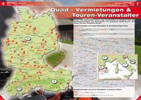 ATV&QUAD Magazin 2012/09-10, Seite 6-7: Quad-Vermietungen & Touren-Veranstalter