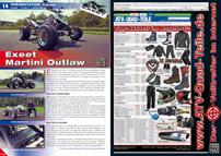 ATV&QUAD Magazin 2012/09-10, Seite 14-15, Präsentation SJ Racing: Exeet Martini Outlaw