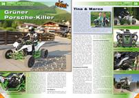 ATV&QUAD Magazin 2012/09-10, Seite 38-43, Umbau eXeet Monster 600R: Grüner Porsche-Killer