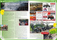 ATV&QUAD Magazin 2012/09-10, Seite 54-55, Szene Deutschland, PLZ 3, Quadtreffen im Harz: Künftig ohne die Quadfreunde; Quad Crew Niedergrafschaft: 1. Quad-Treffen im Bagger-Park Emsland